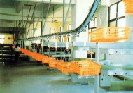 Overhead Conveyor for Food and Consumer Electroncis