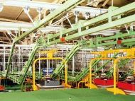 Overhead Conveyor for Car Manufacturing